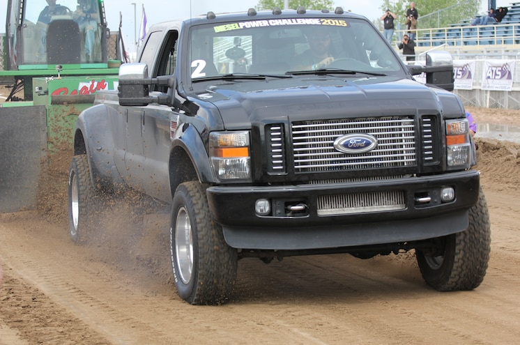 Dpc2015 2010 Ford F350 Diesel 319 Foot Sled Pull Winner Jared Rice