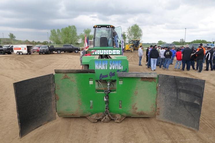 Dpc2015 Diesel Sled Pull Ragin Thunder Sled