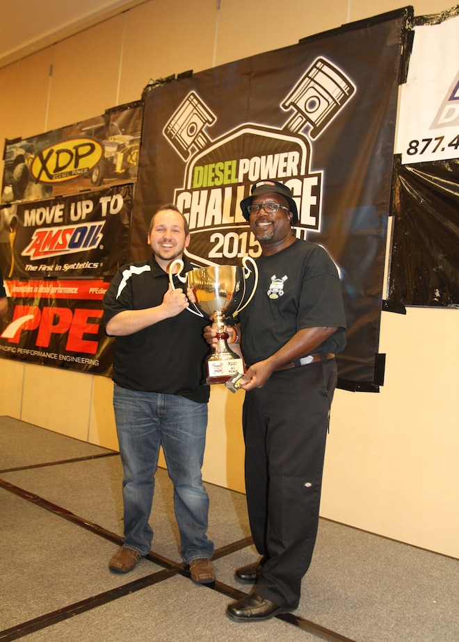 Dpc2015 Diesel Power Challenge Winner Lavon Miller And Kj Jones
