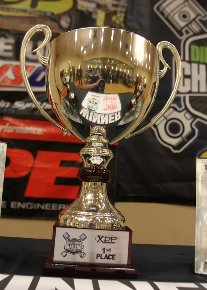 Dpc2015 Diesel Power Challenge First Place Trophy