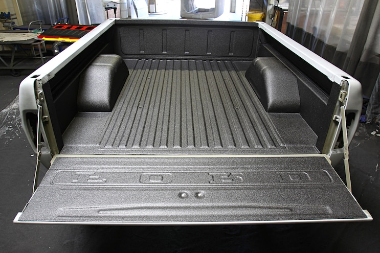 Project Speed Bump 1967 Ford F 100 Bed Prep Coated