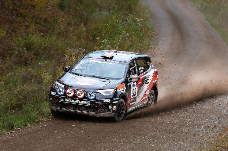 Near-Stock 2WD Toyota RAV4 Finishes Second in Lake Superior Rally