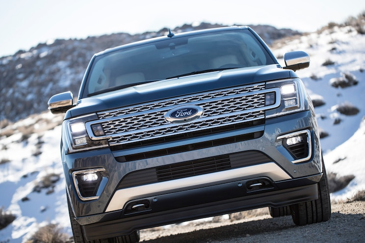 2018 Ford Expedition Exterior Front View