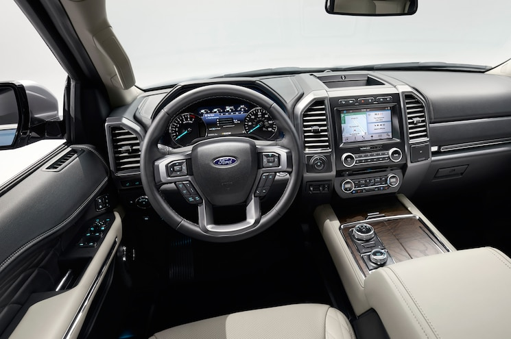 2018 Ford Expedition Interior Cockpit