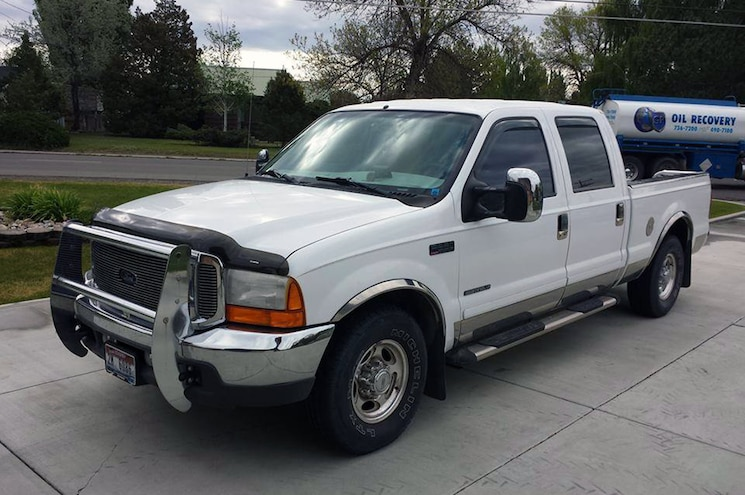 2001 Ford F 250 Super Duty Front