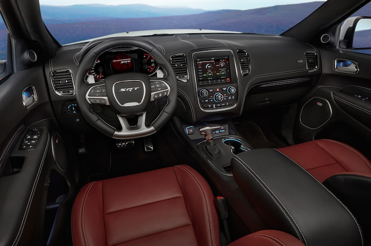 2018 Dodge Durango Srt Interior Cockpit