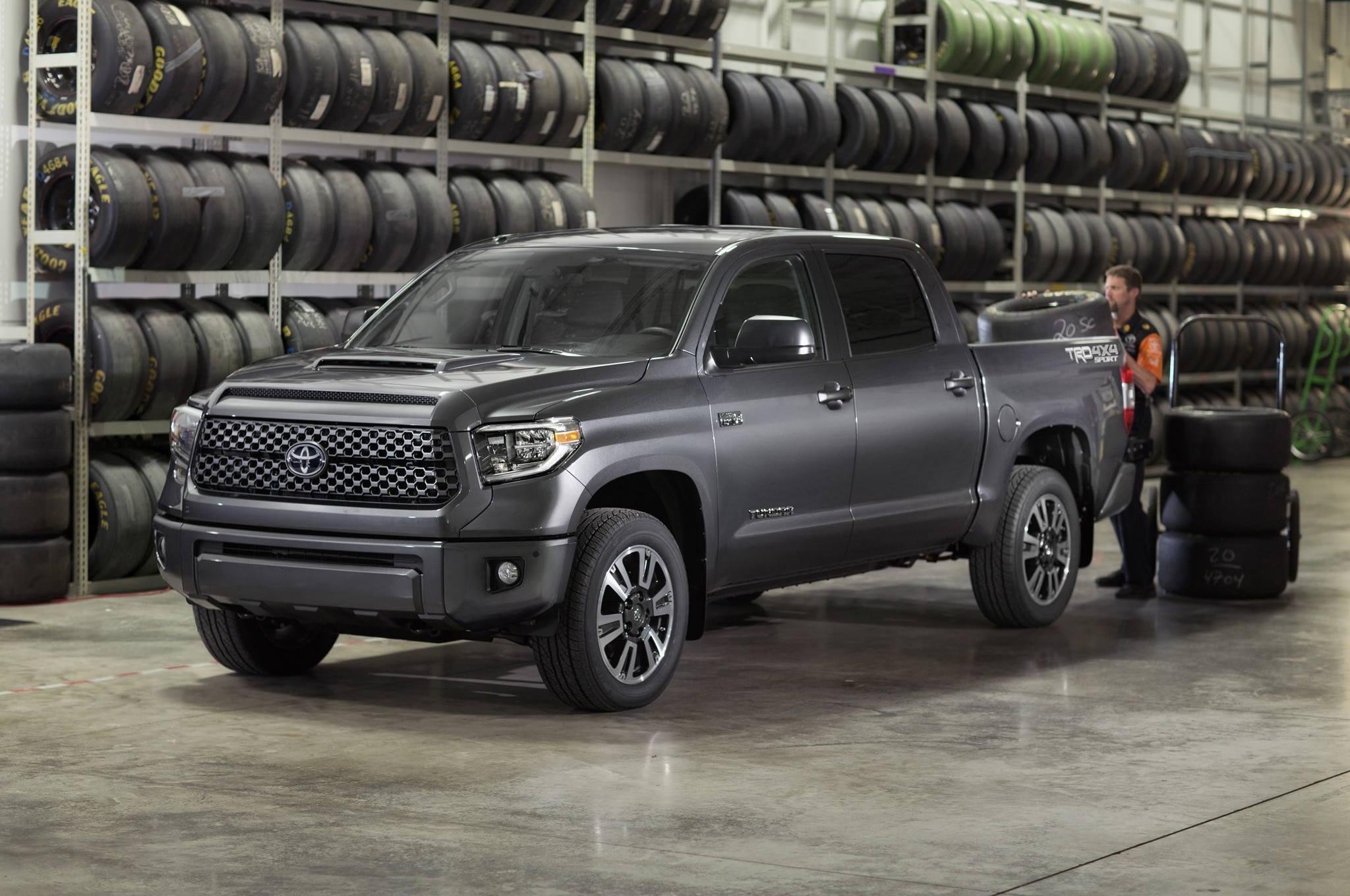 Toyota Updates 2018 Tundra And Sequoia Adds Available Trd Sport Package