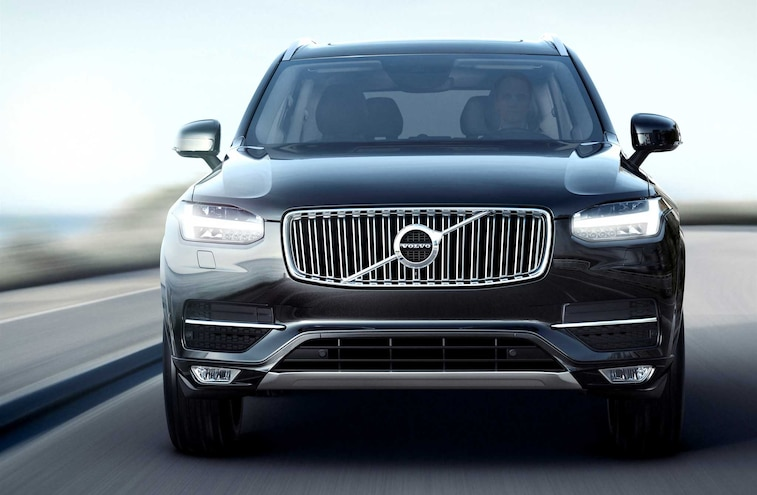 2016 Volvo XC90 Suv Front View