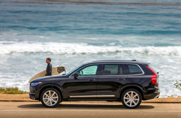 2016 Volvo XC90 Suv Driver Side Profile