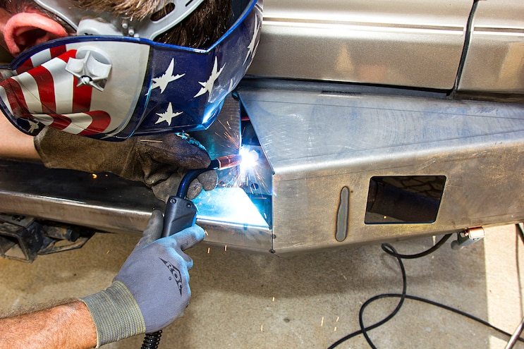 Move Weld It Yourself Bumper Build Fully Weld