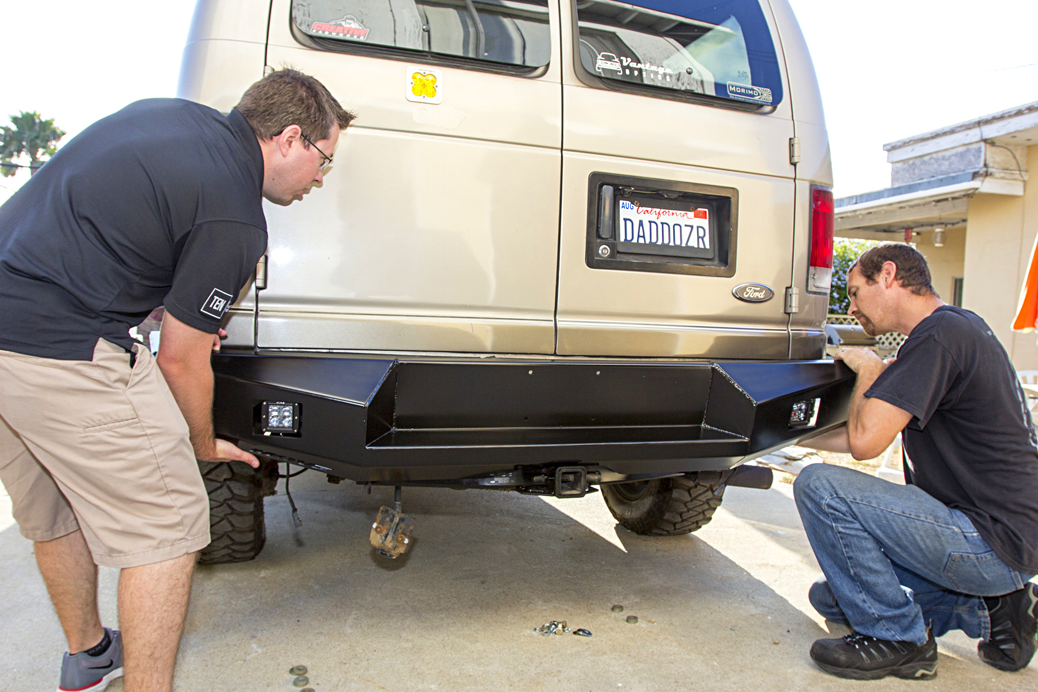 MOVE Bumpers DIY Rear Bumper Build and Install Photo & Image