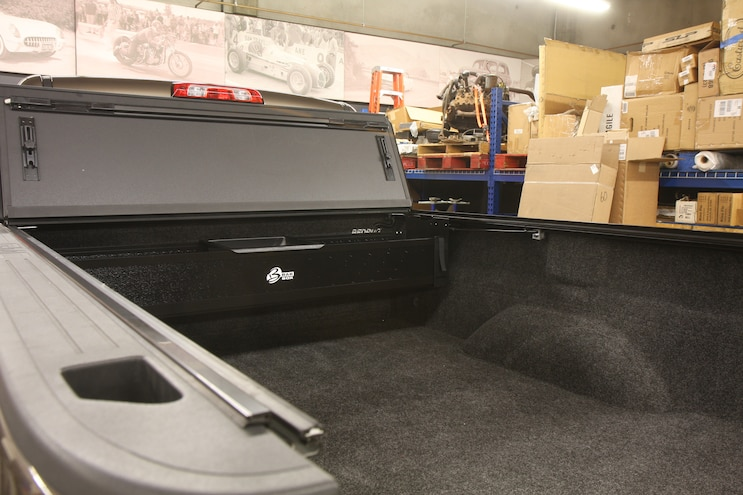 GMC Sierra 2500 Gets Cargo-Protecting Goodies from BAKFlip and BedRug