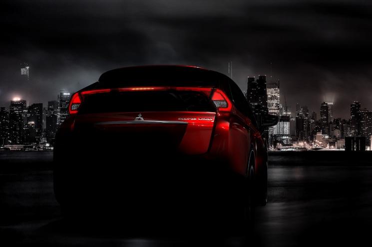 Mitsubishi Eclipse Cross Teaser Rear
