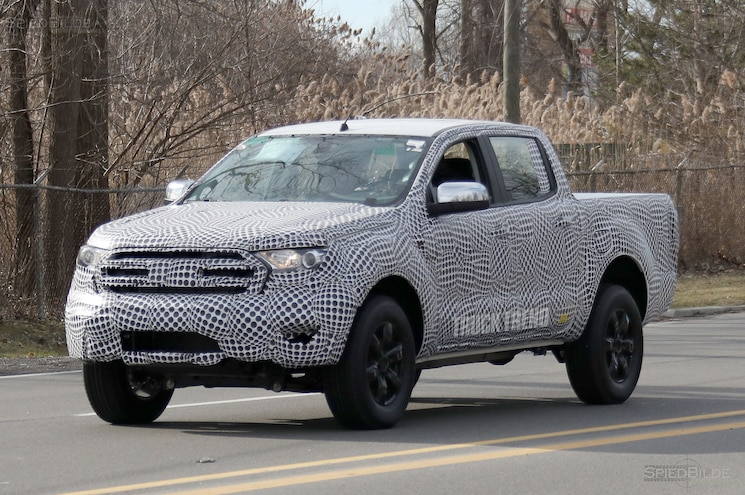 SPIED – 2019 Ford Ranger Mule Says G'Day, Mate