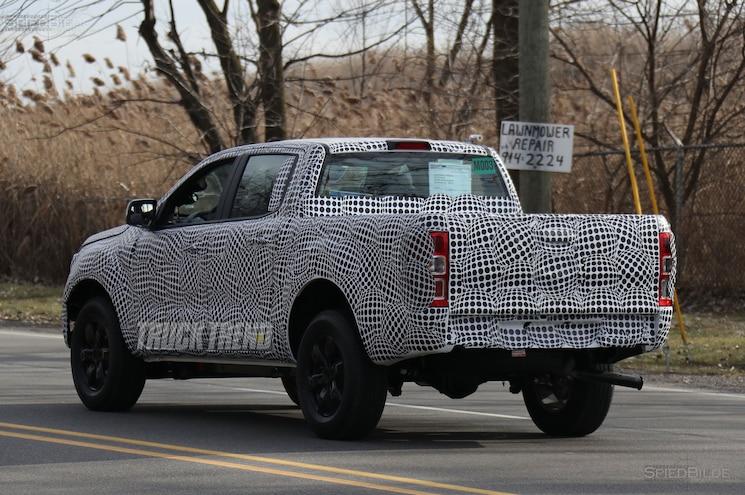 2019 Ford Ranger Spied Rear Quarter 03