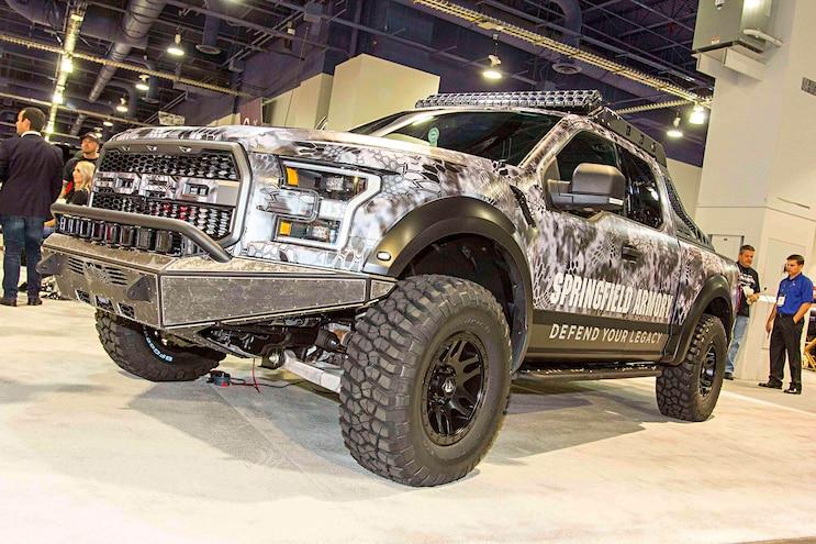 2016 Sema 15 Best Of Show Ford Raptor