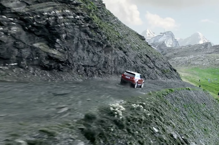 2016 Range Rover Sport Downhill Switzerland 04