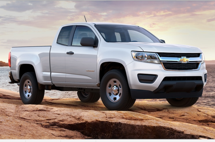 2017 Chevrolet Colorado Base Extended Cab