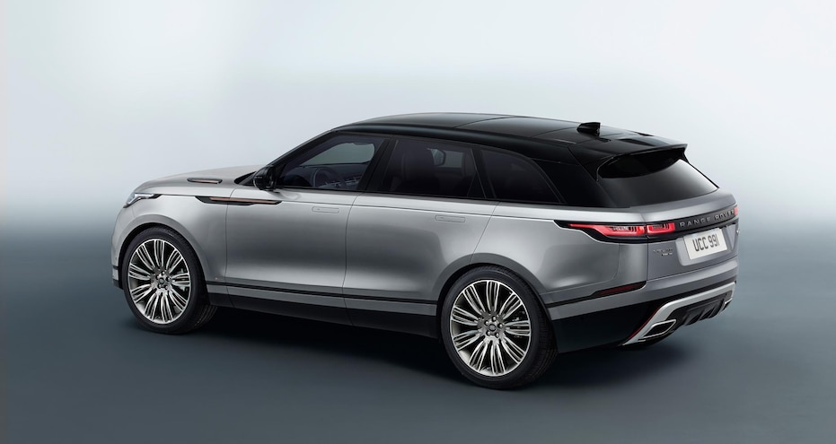 2018 Range Rover Velar Left Rear Studio 007