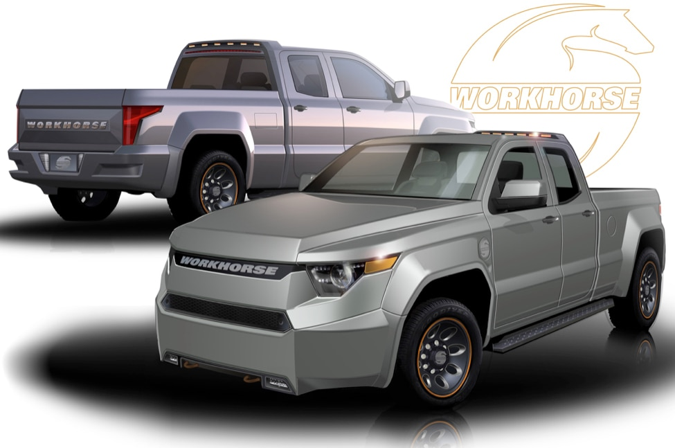 Workhorse W-15 Electric Pickup Truck Receives Letters of