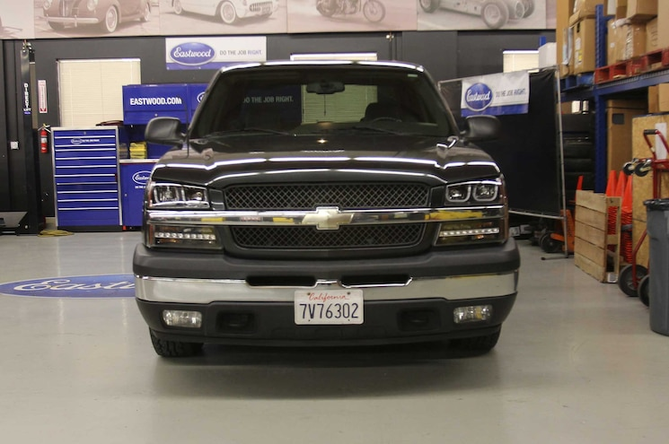 2005 Chevrolet Silverado 1500 Anzo UBar LED Head Lamp Upgrades Day