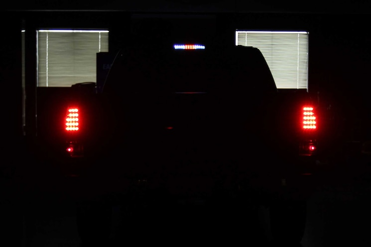 2005 Chevrolet Silverado 1500 Anzo LED Brake Lamps Night