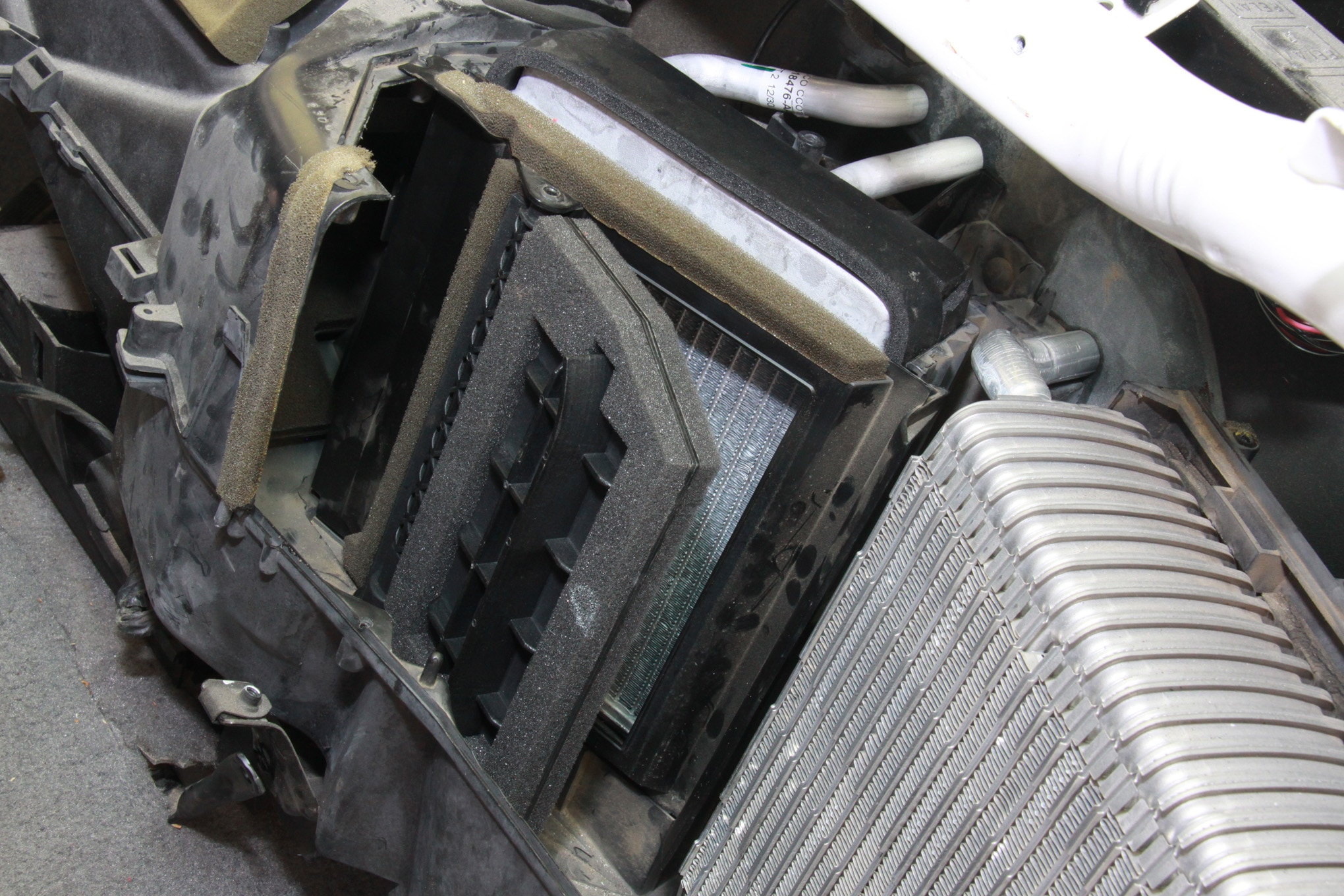 2001 Chevy Silverado Heater Core Diagram