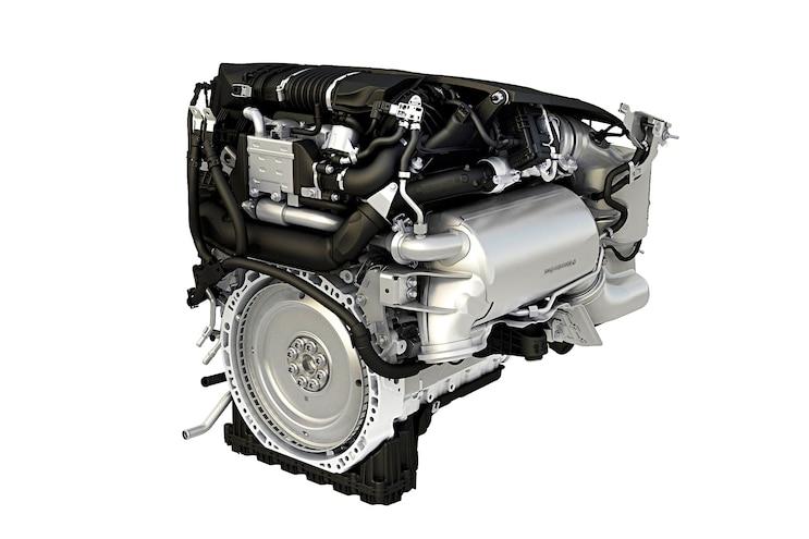 Mercedes Benz Om 654 Rear Flywheel Exhaust