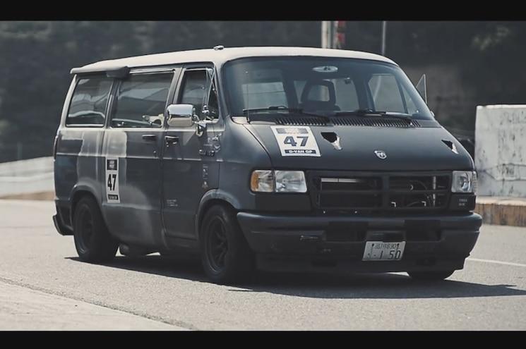 Video Find: Dodge Ram Van Racing in Japan