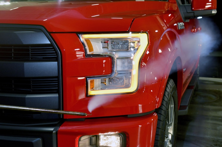2015 Ford F-150 Aero Improved With Air Curtain Technology