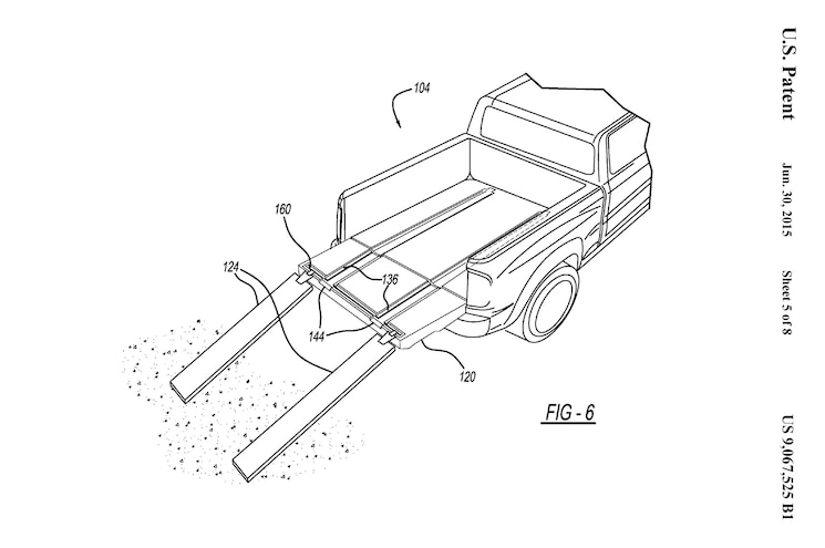 Ram Might Have a Patent on an In-Bed ATV Ramp