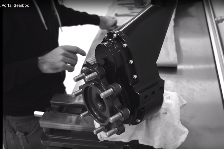Video: Bollinger Motors EV Truck Will Have Portal Axles!