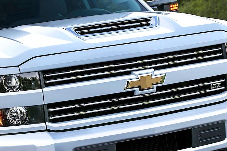 2017 Chevrolet Silverado 2500hd Front