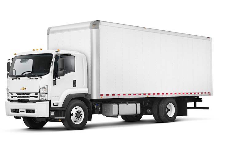 2018 Chevrolet Low Cab Forward 6500xd Left Side Angle