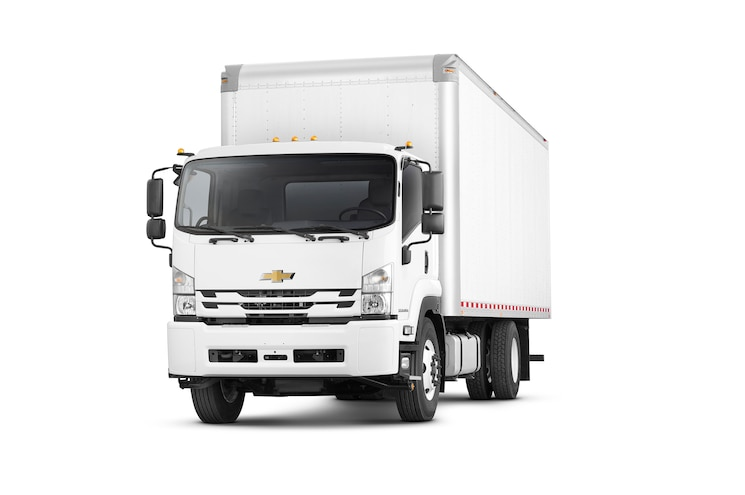 2018 Chevrolet Low Cab Forward 6500xd Front Angle