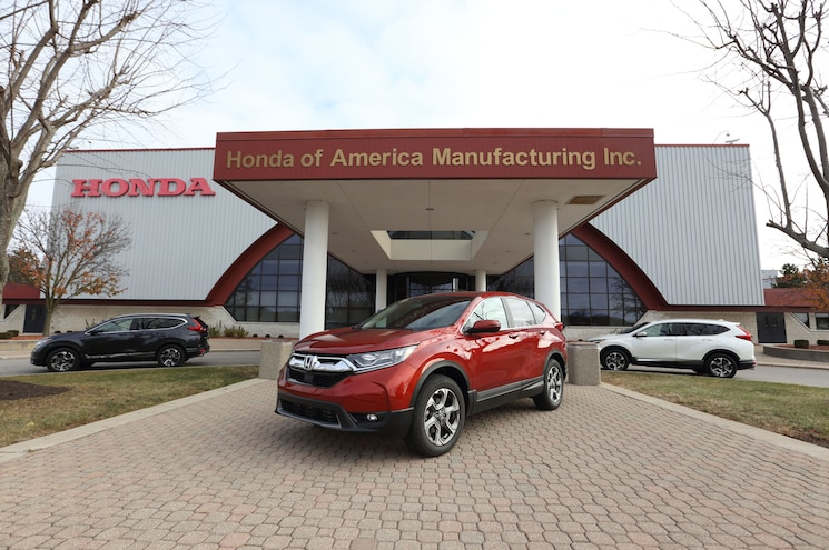 Honda Begins Production of 2017 CR-V, EPA Releases Crossover's Fuel Eco Ratings