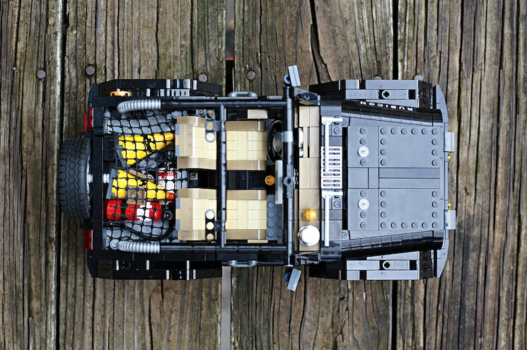 Lego Ideas Jeep Rubicon Top View