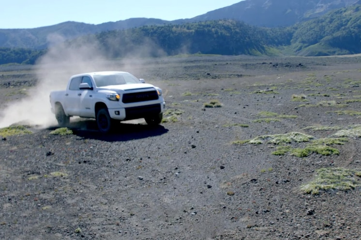 Toyota Tundra TRD Pro Scales Volcano With Ryan Millen and Andy Bell – VIDEO