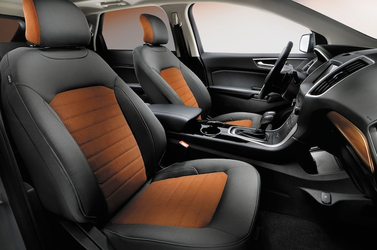 2018 Ford Edge Sel Sport Appearance Package Interior Front Seats