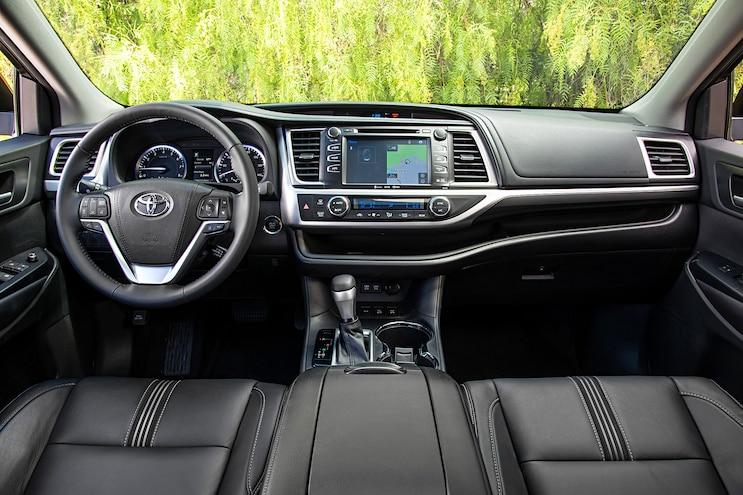 2017 Toyota Highlander Se Interior