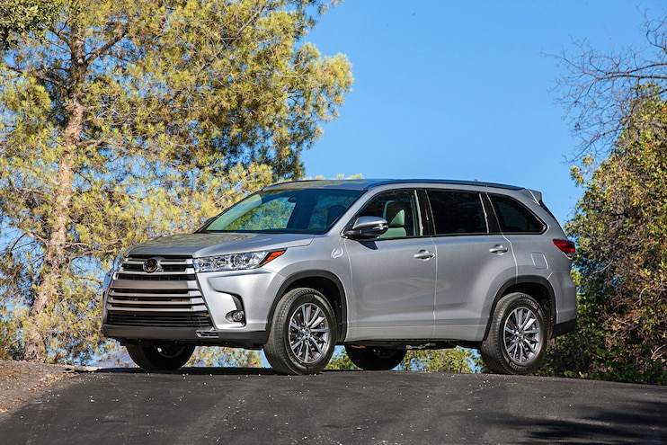 2017 Toyota Highlander Xle Awd Front