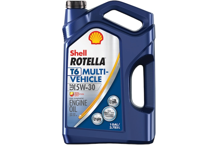 Shell Rotella T6 5W-30 Diesel and Gasoline Oil