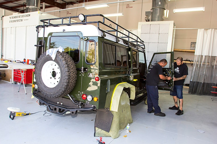 East Coast Defender In House Paint