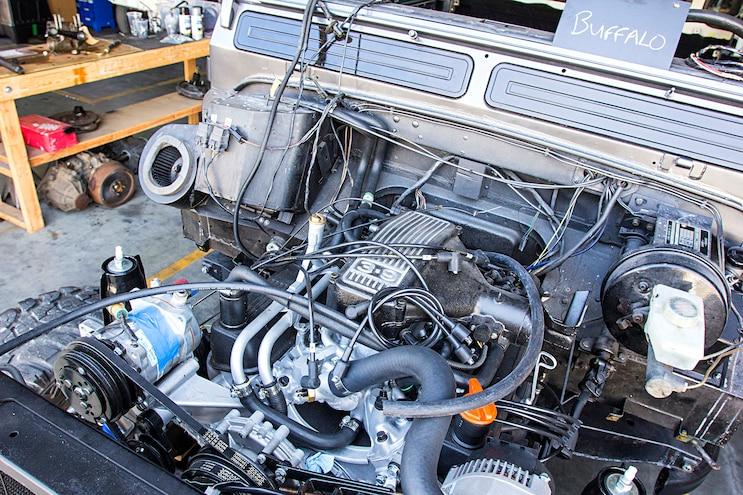 East Coast Defender Original Engine