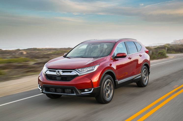 2017 Honda Cr V Touring Front Quarter 10