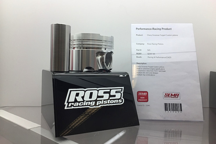 Diesel Truck Parts Sema Ross Racing Pistons Duramax