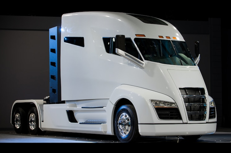2020 Nikola One Front Three Quarter Low