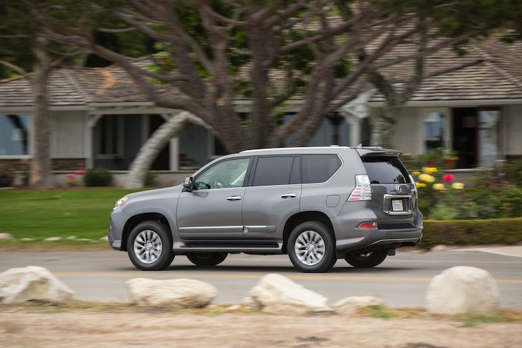 2016 Lexus GX 460 Rear Three Quarter In Motion