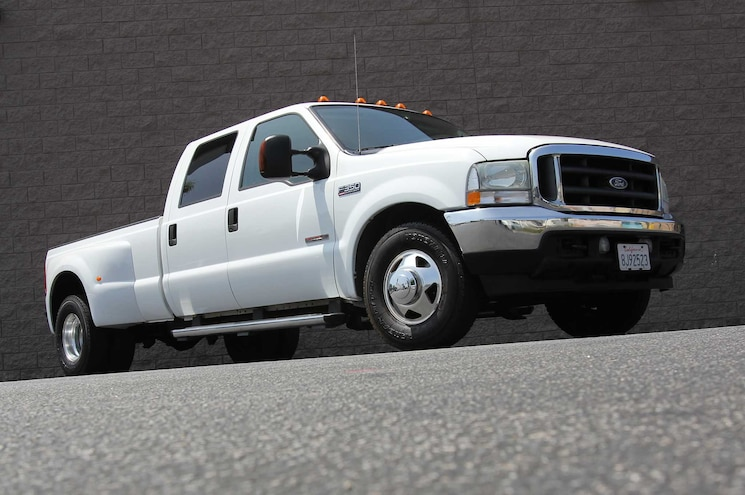 2004 Ford F 350 Diesel Front Side View