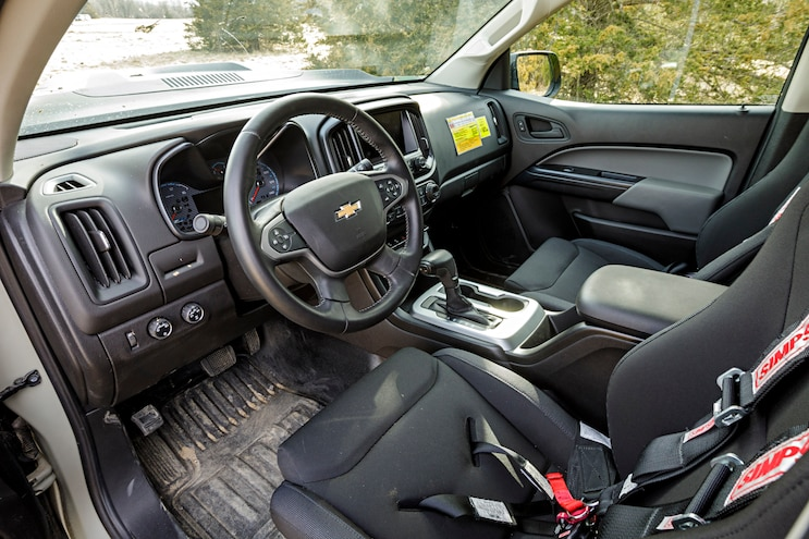 Tardec Chevrolet Colorado Zh2 Hydrogen Fuel Cell Interior
